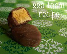 Sea Foam Candy (recipe)