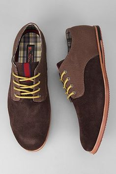 UrbanOutfitters.com > Ben Sherman Mixed Mayfair Derby Shoe