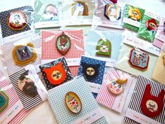 Amazing Jess Quinn brooches!