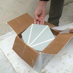 Carreau ciment hexagonal - Auguste et Claire
