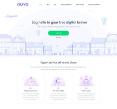 Landing Page - Lineart – Inspire Design Web Design Tips, Web Design Inspiration, Web Layout, Layout Design, Header Design, Website Header, Application Design, Landing Page Design, Create Website