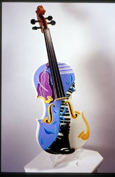 Masterfully Painted Violins