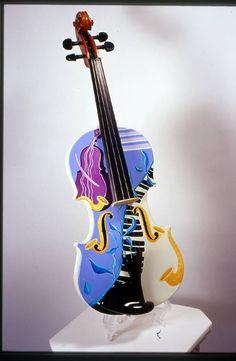 Masterfully Painted Violins
