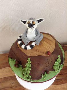 Lemur cake | My cakes | Pinterest | Birthday ideas
