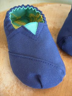 40% off Christmas in July Sale - Canvas Baby Shoe Pattern - PDF - Size 3 month to 12 month. $2.70, via Etsy.