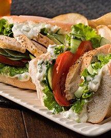 Athens Chicken Sandwich