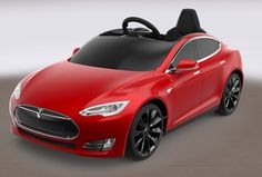 Radio Flyer has unveiled the Tesla Model S for Kids. .