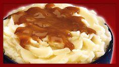 Top Secret KFC Recipes: KFC Mashed Potatoes Recipe Source by mvanlandschoot Gravy For Mashed Potatoes, Mashed Potato Recipes, Potato Dishes, Kfc Gravy Recipe, Guinness Recipes, Sauces, Beef Gravy, Turkey Gravy, Gastronomia