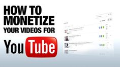 Want to Make Money with home videos? Watch this #monetization #youtube #homevideos #blogger #socialmedia https://www.youtube.com/watch?v=EwQyYIlE4oQ&feature=youtu.be