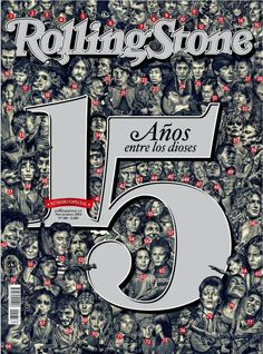 Portada de Rolling Stone. 15 aniversario