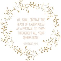 Levivicus - did you know that the Biblical holidays are intended to be kept by all Believers? Learn what Scripture says about the Feast of Taberancles Yom Teruah, Yom Kippur, Jews For Jesus, Feasts Of The Lord, Faith Verses, Jewish Calendar, Feast Of Tabernacles, Messianic Judaism, Sabbath Day