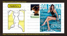 low racer back bathers pattern Sewing Lingerie, Jolie Lingerie, Easy Sewing Patterns, Clothing Patterns, Sewing Hacks, Sewing Tutorials, Sewing Diy, Hiit, Sewing Clothes