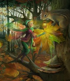 Leonarda; the compassion of the relationship between fairies and animals