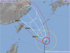 台風23号 2013年10月4日6時時点