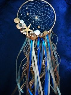 Nautical Sea Dream catcher Summer dreamcatcher Ocean themed