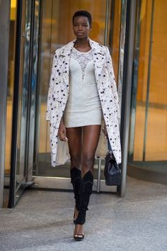 Maria Borges at the NYC Victoria's Secret offices for the VS Fashion Show casting callback (October 25, 2016) #VSFS #VSFS_2016 #VSFSParis2016