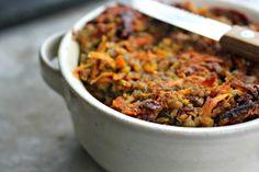 Walnut salad, Lentils and Salads on Pinterest