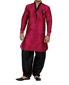 Art Designer Wear Purple Silk Pathani Suit For Men-Medium Art Designer Wear http://www.amazon.in/dp/B00TPMDWB8/ref=cm_sw_r_pi_dp_rdT-vb12H052V