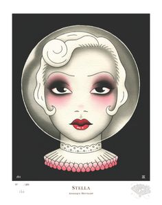 Stella by Angelique Houtkamp | AUD$275 inc GST | signed and numbered limited edition giclee print, edition of 200 | measures: 27 x 34cm (paper size)