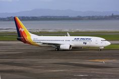 Air Pacific, the flag carrier airline of Fiji, offers services between Brisbane and Nadi, Fiji
