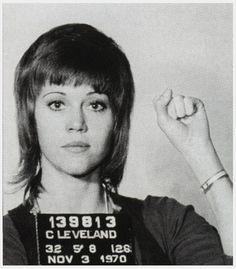 Jane Fonda   Activista por los Derechos Civiles-1970