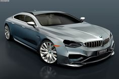 BMW Sportback Concept based on 7 Series - http://www.bmwblog.com/2014/04/15/bmw-sportback-concept-based-7-series/