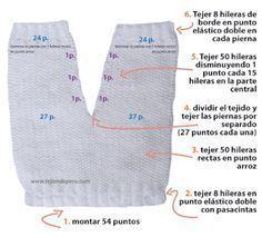 Pantalón para bebé (conjunto d
