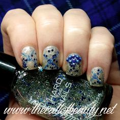 The Call of Beauty: ABC Challenge: Ice Queen by Sally Hansen stamped