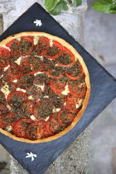 Tarte au Cantal express Pepperoni, Food And Drink, Pie, Cooking, Quiches, Provence, Tarts, Pizza, Tomato Pie