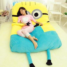 Despicable Me Minions Huge Sleeping Cushion