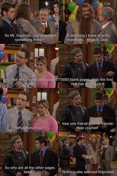 Boy Meets World. This would go onto my funny board but the lesson is far too important. I always remembered this episode especially when I see a weird dude with a long mustache.