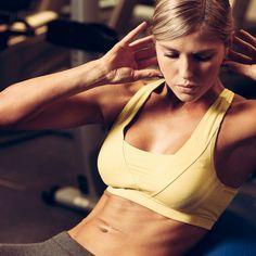 10-minutowy trening na dolne partie brzucha. Intensywny i skuteczny! Bikinis, Swimwear, Bra, Fitness, Sports, Fashion, Diet, Bathing Suits, Hs Sports
