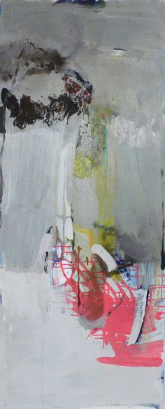 Madeline Denaro - Quicken -  acrylic with polymers, 60x24