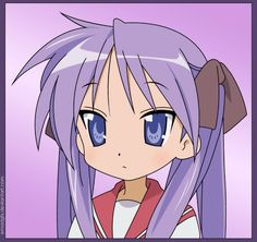 Kagami from Lucky Star