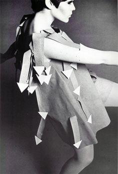 Paper dress, 1960s.