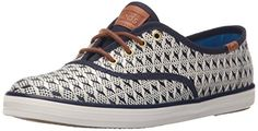 Keds Womens Champion Geo Raffia Fashion Sneaker Navy 75 M US *** More info could be found at the affiliate link Amazon.com on image.