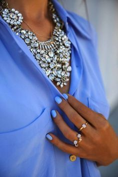 Statement necklaces-big bling