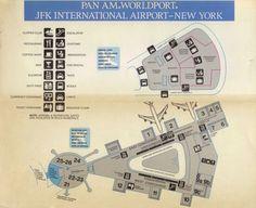 PAN AM Worldport JFK, 1988