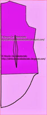 Trazar cola de pato en espalda de blusa. Parte 1 A todo tipo de blusa o vestido se puede dar alargue en el bajo de la espalda trabajando un proceso llamado cola de pato consistente en dar forma redondeada a la prenda en su largo inferior, partiendo de la unión con el delantero y llegando a una longitud mayor a medida que se acerca al centro de la espalda.