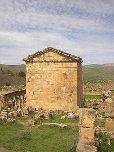 Roman ruins in Djemila, Algeria
