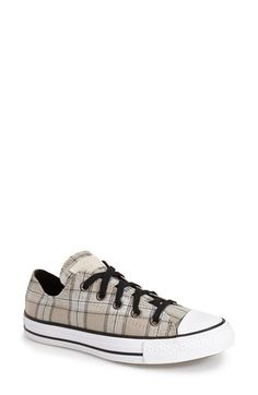 Converse Chuck Taylor® All Star® Plaid Low Top Sneaker (Women) | Nordstrom