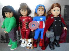Avengers Assemble! (pic heavy) | American Girl Playthings!