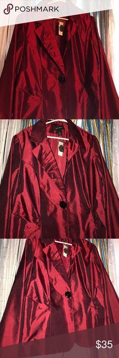 7575ed59aa9 Plus size blazer Plus size burgundy blazer