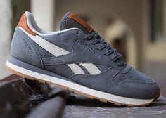 "Reebok Classic Leather ""Suede"" - Rivet Grey | KicksOnFire.com"