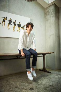 Korean Men, Korean Actors, Asian Actors, Coffee Prince, Train To Busan, Goblin Korean Drama, Goblin Gong Yoo, Oppa Gangnam Style, Yoon Eun Hye