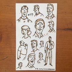 #willorr #art #49 #part3 #charactersketches #sundayfunday #happyfathersday #pensketches #cartoonist #cartoons #sketching #drawing #portraitart #penandinkportraits #penandinksketches #handdrawnart #handdrawn #artist #caricature #comics #illustrations #artists #artistsoninsta #pilotg2 #pilotpens #sketch #pen #ink #draw http://ift.tt/200Di8n - http://ift.tt/1U6eqe8