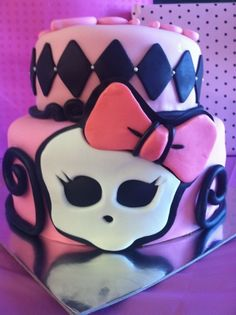 monster high cake...My daughter would love this