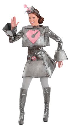 Robot Woman Adult Costume from Buycostumes.com