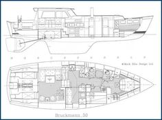 The Bruckmann 50 Blue Water Motorsailor ... I LOVE To Dream