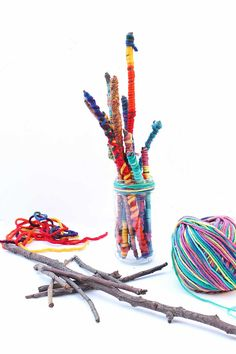 Yarn Sticks